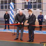 Открытие спортивной площадки техникума